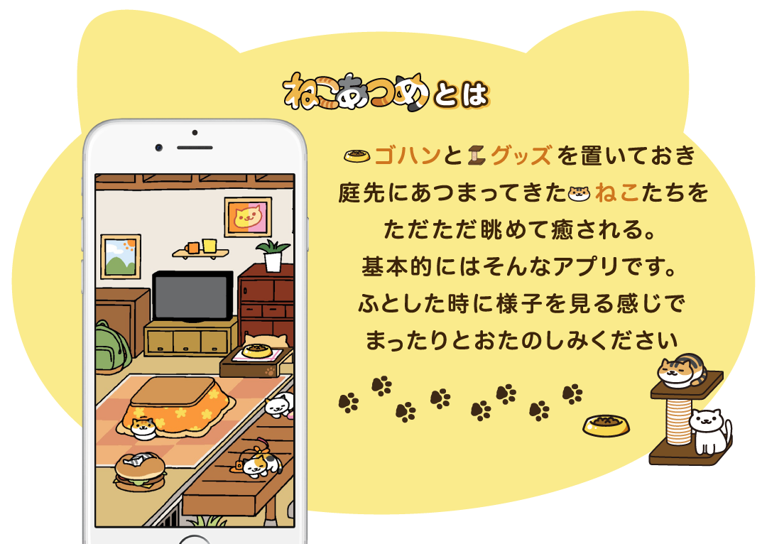 What is Neko Atsume?